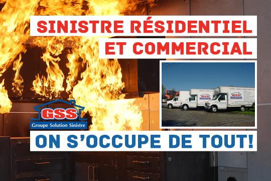 ok-accueil Groupe Solution Sinistre - Sinistre Résidentiel - Commercial